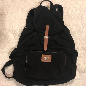 Victoria Secret PINK Black backpack